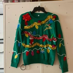 NWT- holiday Sweater- Size Small